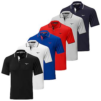 Mizuno Mens 2019 Nopea Dry Plus Golf poolo paita