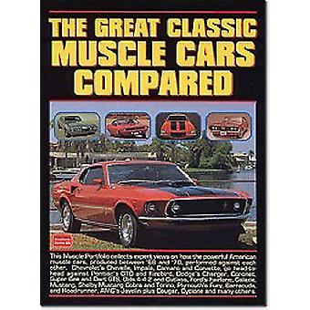 The Great Classic Muscle Cars Compared by R. M. Clarke - 978185520422