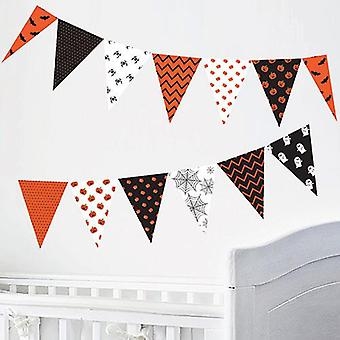 Halloween design selvklæbende Bunting Wall sticker