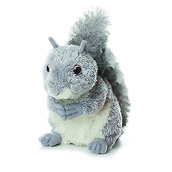 Aurora World Mini Flopsie Plush Nutty the Gray Squirrel, 6.5