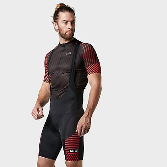 New Gore Men's C3 Lightweight Bib Shorts+ Red