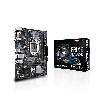Asus prime h310m-k placa base micro atx socket h4 chipset h310