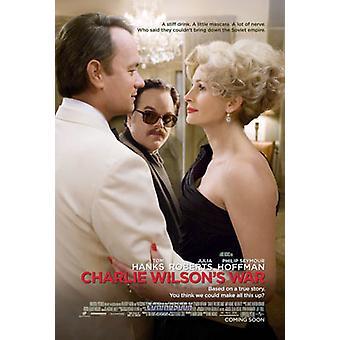 Charlie Wilson ' s War (kaksipuolinen) alkuperäinen elokuva juliste