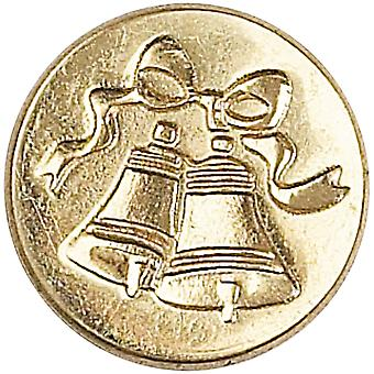 Decorative Seal Coin Bell 727Bel