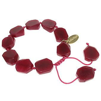 Lola Rose Neva Bracelet Red Plum Quartzite