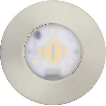 LED flush mount light 6 W RGB JEDI Lighting Performa JE1295808 Stainless steel