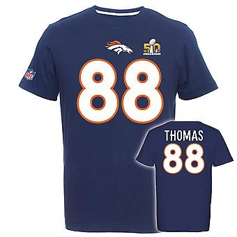 Majestic Super Bowl Shirt - Denver Broncos Demaryius Thomas