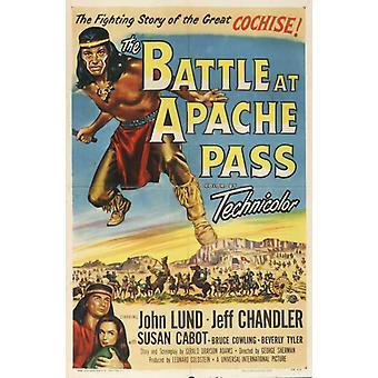Slaget vid Apache Pass filmaffisch (11 x 17)