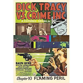 Dick Tracy vs Crime Inc Movie Poster (11 x 17)