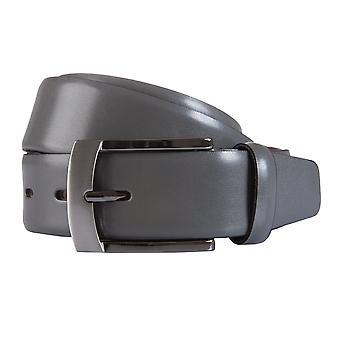 BERND GÖTZ belts men's belts leather belt leather grey 1776