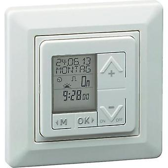 Flush mount timer/power strip digital 7 day mode Müller 23321 IP20 Daylight savings/sunup/sundown control, Daylight s