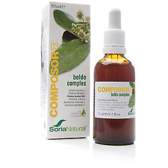 Soria Natural Composor 3 - Boldo Complex (Diet)