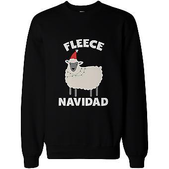 Fleece Navidad lustig Weihnachten Grafik Sweatshirts - süße x-mas Pullover Pullover