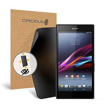 Celicious Privacy Plus Sony Xperia Z Ultra 4-Way Visual Black Out Screen Protector