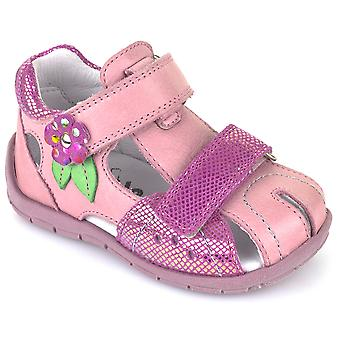 Froddo Girls G2150070 Closed Toe Sandals Pink Multi