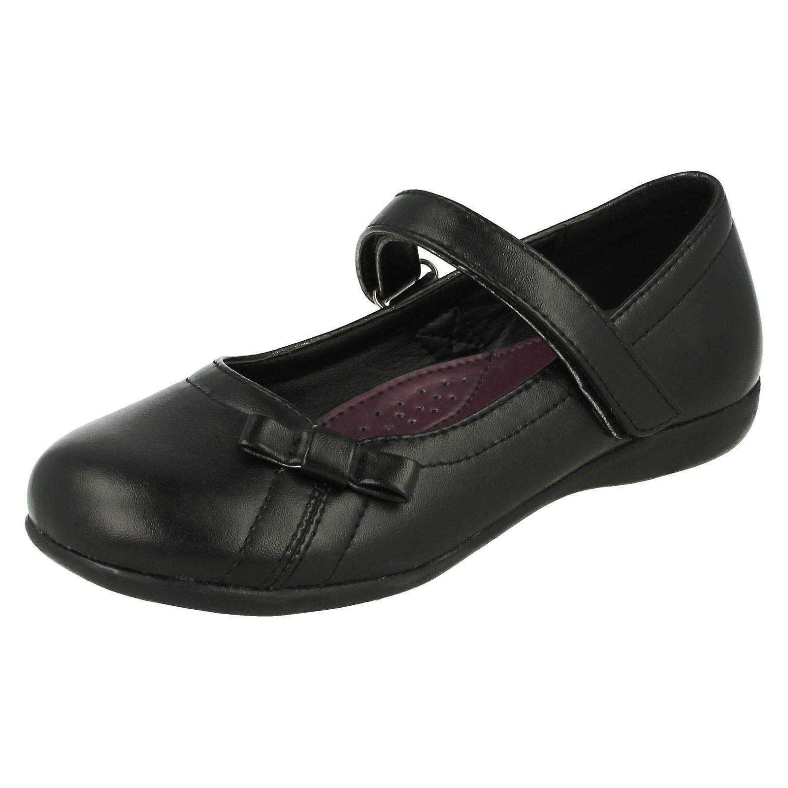 Mädchen Cool für die Schule Bogen Detail Schuhe