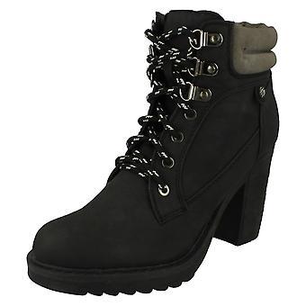 Damen-Spot auf Schnüren Ankle Boots F50322