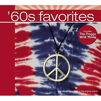 Forskellige kunstner - 60s favoritter [CD] USA importerer