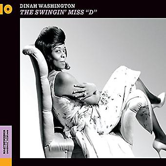 Dinah Washington - importazione USA Swinging Miss D [CD]