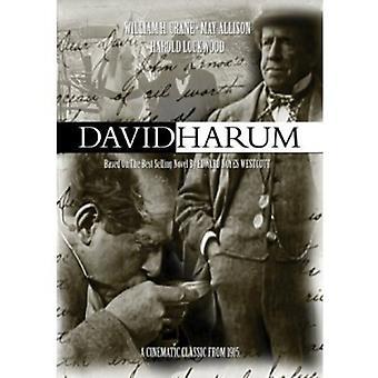 David Harum [DVD] USA import