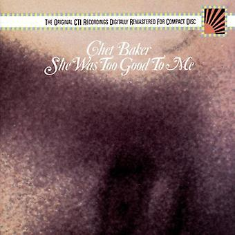 Chet Baker - She Was Too Good to Me [CD] USA import