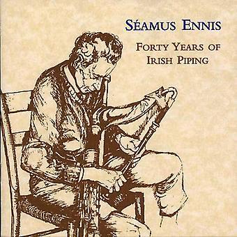 Seamus Ennis - Forty Years of Irish [CD] USA import
