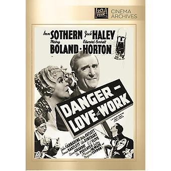 Danger-Love at Work [DVD] USA import