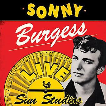 Sonny Burgess - Live at Sun Studios [Vinyl] USA import