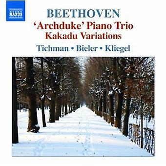 L.V. Beethoven - Beethoven: Trio, Vol. 5 [CD] USA import