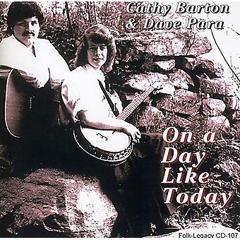 Cathy Barton & Dave Para - på en dag som i dag [CD] USA import