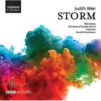 Weir / BBC Singers / Endymions - Storm [CD] USA import