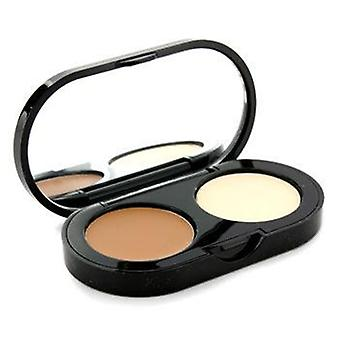 Bobbi Brown New Creamy Concealer Kit - Golden Creamy Concealer + Pale Yellow Sheer Finish Pressed Powder - 3.1g/0.11oz