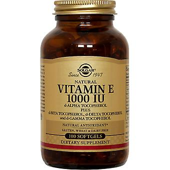 Solgar Vitamin E 1000 IU Mixed Softgels 100 ct