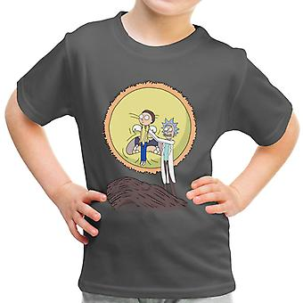 Rick And Morty Science King Kid's T-Shirt