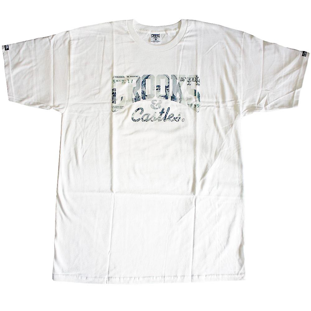 Crooks & Castles devise Core T-shirt blanc