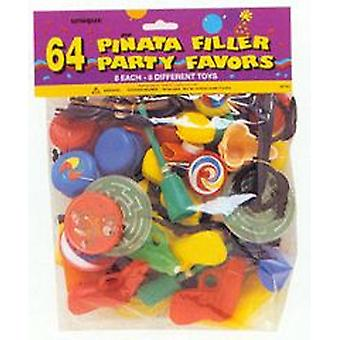 PINATA FILLER PARTY Toys (bag of 64)