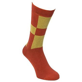 40 Colori Racing Socks - Brick/Beige