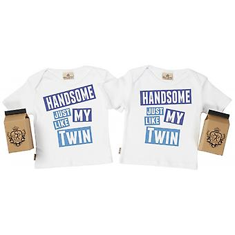 Spoilt Rotten Handsome Like My Twin Baby T-Shirt