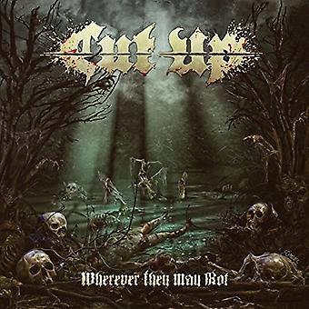 Cut Up - Wherever They May Rot [CD] USA import