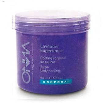 Onna Therapy Lavender Lavender Body Peeling 500 ml experience