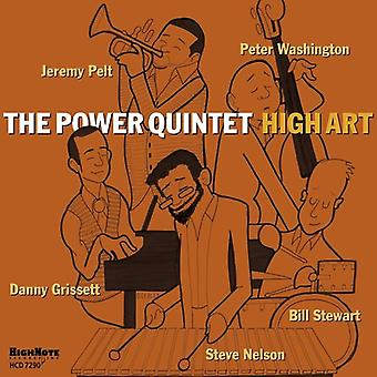 Power kvintet,-Jeremy Pelt, Steve - høje kunst [CD] USA import