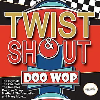 Forskellige kunstner - Twist & råbe Doo Wop [CD] USA importerer