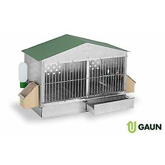 Gaun Cage Perdices Baza gabled model (Birds , Cages and aviaries , Aviary)