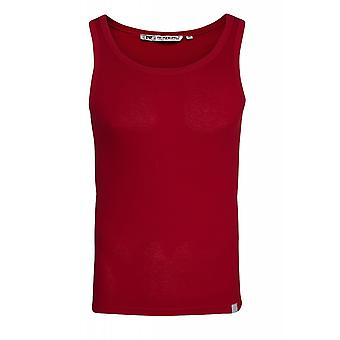 RUSTY NEAL basic top men's tank top red sleeveless