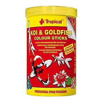 Tropical Koi &Amp  Goldfish Color Stick Bag 1L / 80 Grs (Fish , Food , Cold Water)