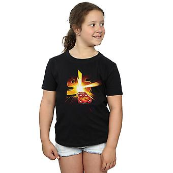 Disney Girls Cars Lightning McQueen Burst T-Shirt