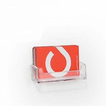 Self-Adhesive Business Card Holder