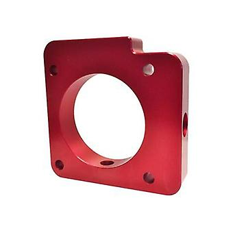 Torque Solution Throttle Body Spacer TS-TBS-027R Red Fits:SUBARU 2006 - 2014 IM