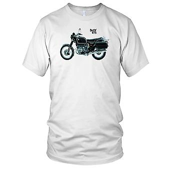 BMW R75 motocykl klasyczny motocykl Biker męskie T Shirt