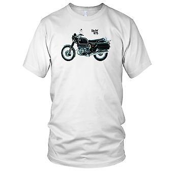 BMW R75 klassieke motorfiets motor Biker Mens T Shirt